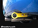 Beatrush Rear Tow Hook Yellow Subaru WRX & STi 2002-07