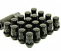 Muteki SR35 Close Ended Lug Nuts - Black -