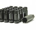 Muteki SR48 Open Ended Lug Nuts - Black -