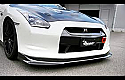 HKS Kansai Front Lip Spoiler Nissan GT-R 2009-16