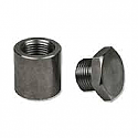 Innovate Motorsports Stainless Steel Extended 1in Oxygen Sensor Bung w/ Plug