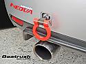 Beatrush Rear Tow Hook Red Subaru WRX & STi 2008-14