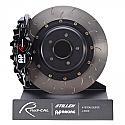 AP Racing Radi-CAL Rear 4-Piston Big Brake Kit Infiniti G35 2003-07