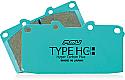 Project Mu Brake Pads HC+ -Rear- Infiniti G35 2003-08