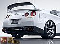 Amuse Dry Carbon Fiber Rear Wing Nissan GT-R 2009-17