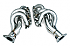 DC Sports Stainless Steel Brushed Headers Infiniti G35 2003-2006