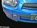 Beatrush Front Tow Hook Red Subaru WRX & STi 2002-07