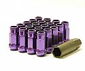 Muteki SR48 Open Ended Lug Nuts - Purple -