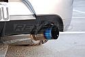 Rexpeed JDM 9 Carbon Exhaust Shield Mitsubishi Evolution IX 2005-07