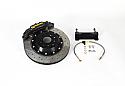 AP Racing 4-Piston Rear Cross-Drilled / Slotted Rotors RT Big Brake Kit Subaru BRZ / Scion FR-S 2013-15