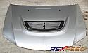 Rexpeed Carbon Bonnet Vent Mitsubishi Evolution VIII & IX 2003-07