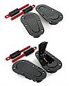 Dodson Carbon Fiber Non-Locking Bonnet Catches Nissan GT-R 2009-16