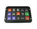 Racegrade Flush Mount Bezel for 15 Button Keypad