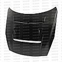 Seibon DV-style carbon fiber hood for 2009-2016 Nissan GTR