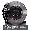 AP Racing Radi-CAL Front 6-Piston Big Brake Kit Infiniti G35 2003-07