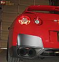 SSP Flat Black Exhaust Guards Nissan GT-R 2009-16