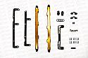 TiTek Billet High Volume Fuel Rail Kit Nissan GT-R 2009-17