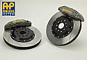 AP Racing 6-Piston Front Slotted RT Big Brake Kit Subaru WRX 7 STi 2002-14