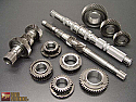 PPG 6 Speed Heavy Duty Helical Synchro Gear Set with Billet Output Shaft Nissan GT-R 2009-17