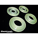 Beatrush Rear Diff Lock Spacer Bushings Subaru WRX & STi 2002-07