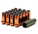 Muteki SR48 Open Ended Lug Nuts - Orange -
