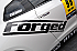Forged Performance Large Windshield Style Sticker