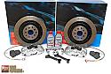 Alcon Advanced Extreme Brake Kit Rear 4 Pot 343mm x 25mm Scion FR-S / Subaru BRZ 2013-15