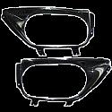 Dodson Carbon Exhaust Surround w/ Logo Nissan GT-R 2009-16
