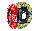 Brembo GT 380x32 2-Piece 6 Piston Drilled Front Big Brake Kit Ford Focus RS 2016 - 2017