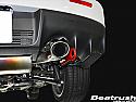 Beatrush Rear Tow Hook Red Mitsubishi Evolution X 2008-14