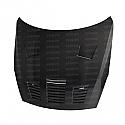 Seibon GT-style carbon fiber hood for 2009-2016 Nissan GTR