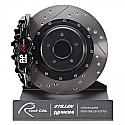 AP Racing Radi-CAL Rear 4-Piston Big Brake Kit Infiniti G37 2009-13