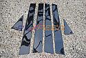 Rexpeed Carbon Fiber Pillar Trim Subaru -Hatchback- STi 2008-14