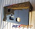 Rexpeed Carbon Fiber Plate Bracket Mitsubishi Evolution VIII 2003-05