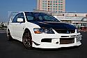 Rexpeed Carbon Fiber Canards Mitsubishi Evolution IX 2005-07