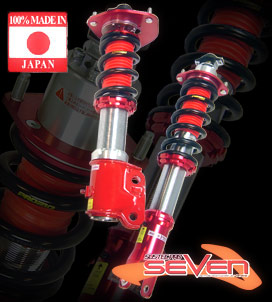 Tanabe Sustec Pro Seven Coilovers Nissan 350Z 2003-2008