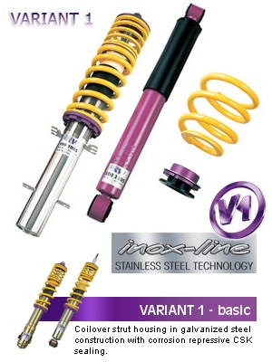 KW Variant 1 Coilovers Nissan 350Z 2003-2006