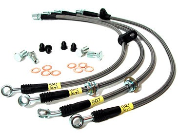 StopTech Stainless Steel Brake Lines Nissan GT-R 2009-11