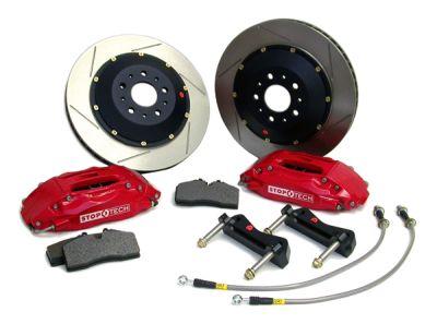 StopTech Rear 14 Inch 4 Piston Big Brake Kit Nissan 370Z Sport 2009-15
